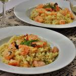risotto-krevety